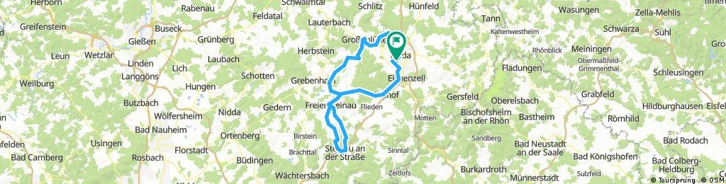 Goethetour 2018  1.Etappe