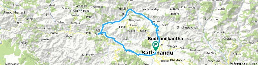 Nuwakot Durbar Cycling