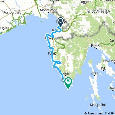 L'Istria in bicicletta