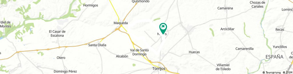 Noves, Maqueta, San Silvestre, Noves.