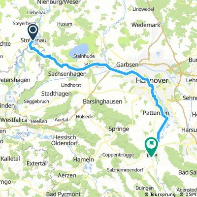 D 072: Stolzenau/Weser - Elze/Leine