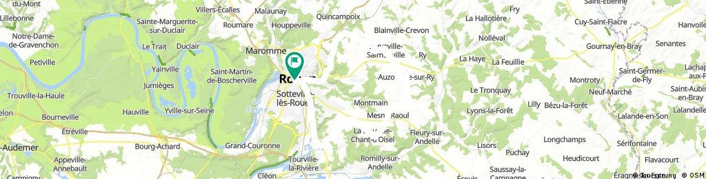 Boucle Rouen-Martainville-Epreville