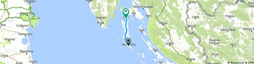 Oko Hrvatska VIII.  MaliLosijn - Cres