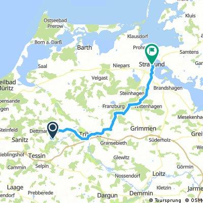 2018-06 Ehmkendorf - Stralsund 63km