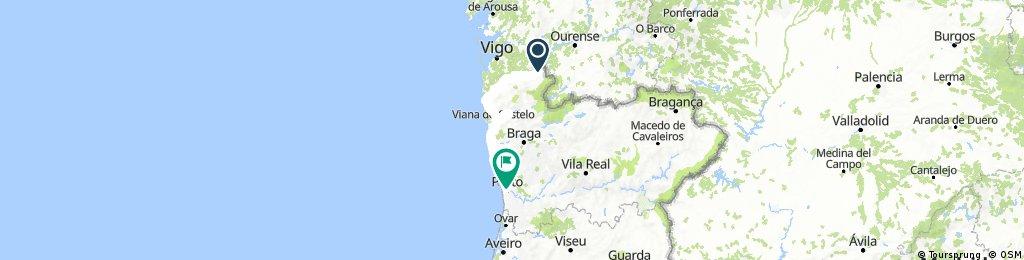 Melgaço to Porto Vacation