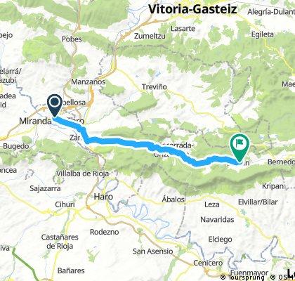 BCB. III Morciencuentros 1. Miranda de Ebro - Lagrán