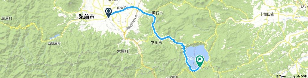 弘前騎至奧入瀨