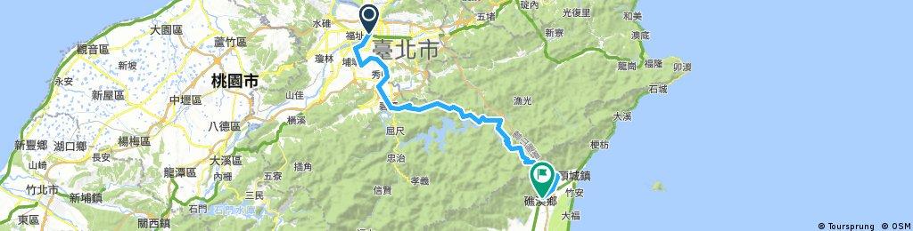 Three (3) Days Biking Tour in Northern Taiwan - Day 1