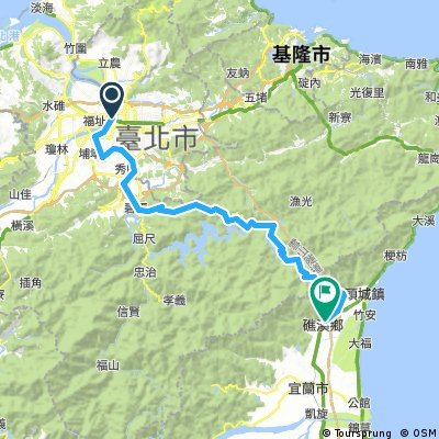 Three (3) Days Biking Tour in Northern Taiwan - Day 1