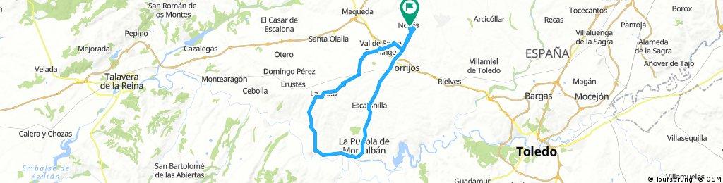 Noves, la Puebla, Carpió, Carmona, Alcabón,Santo Domingo, Noves