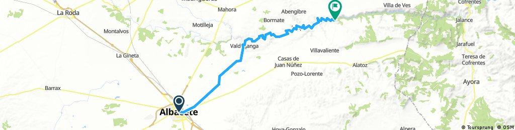 Albacete - Alcalá del Júcar