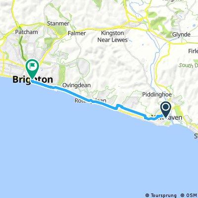 Etapa 3.2 Newhaven-Brighton