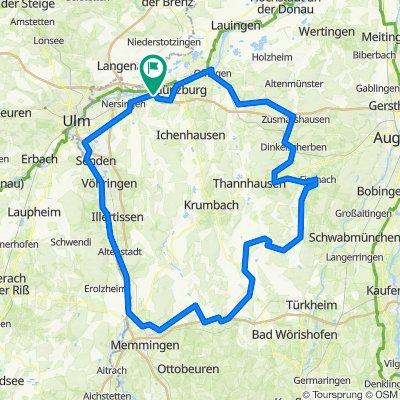 Die schwäbische Kartoffeltour - Radtour durch das wunderschöne Bayern