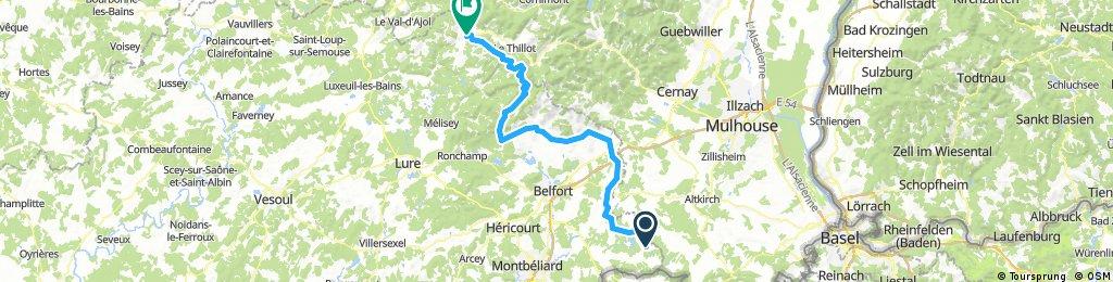 Sixième étape du tour de B-FC 2018 - 92.5km 1170D+
