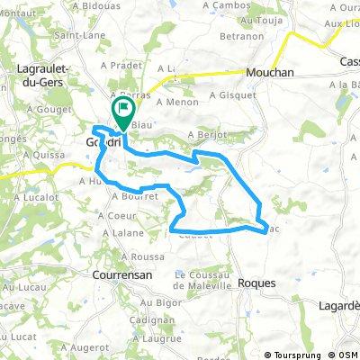 17 km GONDRIN