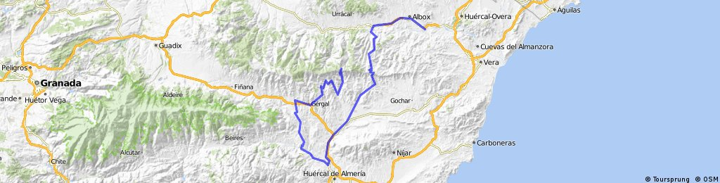 Vuelta 13 Arboleas - Alto de Velefique