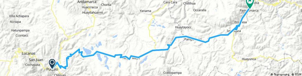 Puquio - Pampamarca