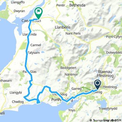 14 Maentwrog - Caernarfon