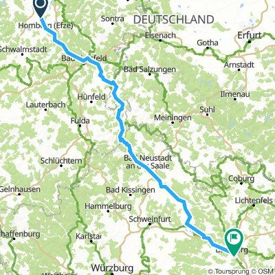 05_Wabern-Bamberg  mit der BAHN