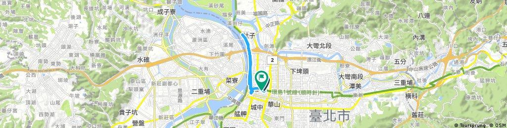 中山站-重陽大橋-中山站