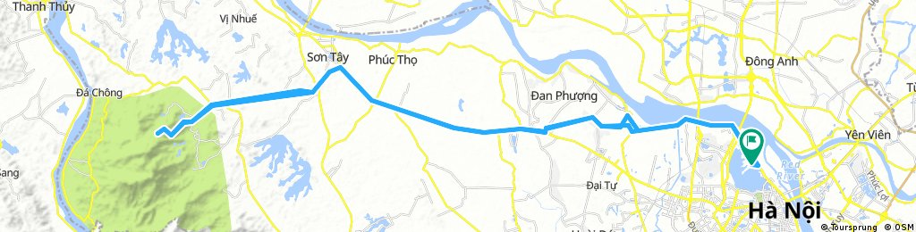 Hanoi to Ba Vi National Park