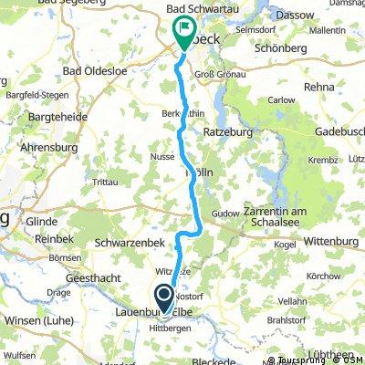 lauenburg lübeck route