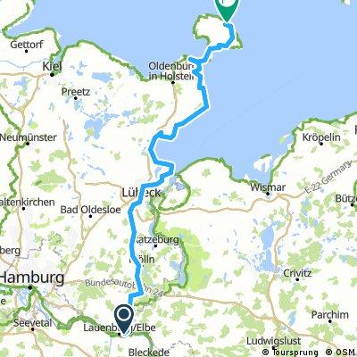 Lauenburg - Fehmarn