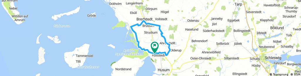 40 km Hattstedter Marsch