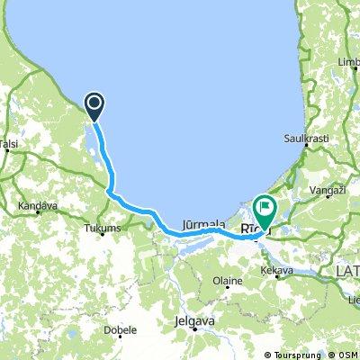 LETTONIE de Mersrags  à Jurmala  puis Riga