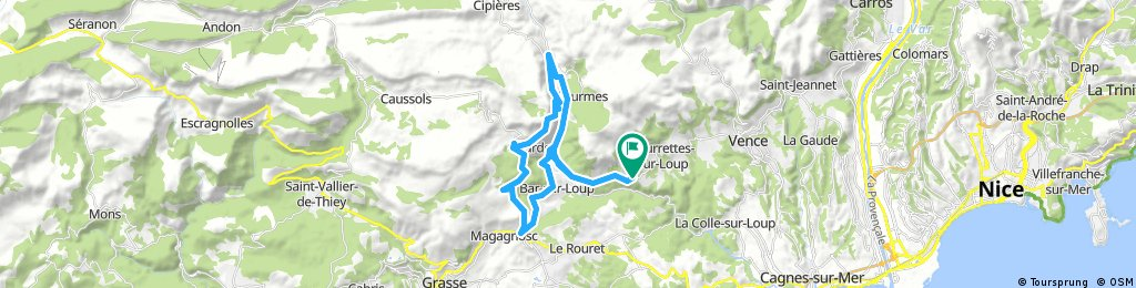 Tourrettes-Gourdon-BarSurLoup-Tourrettes