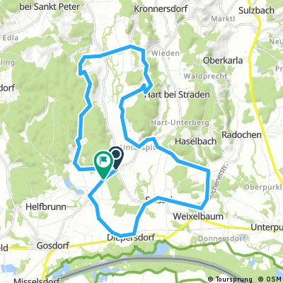 Hügel-Tour
