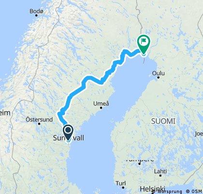 Schweden 2018 botanischer Meerbusen