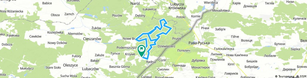 Horyniec - Zdrój - GIGA - Kellys Cyklokarpaty 2018