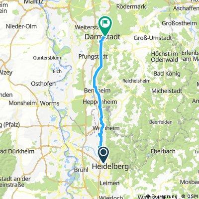 Von JDH Heidelberg JDH Darmstadt