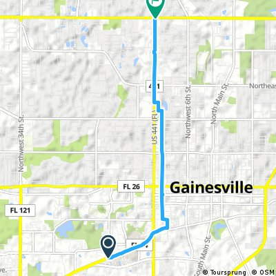 Cycling Routes And Bike Maps In And Around Gainesville Bikemap