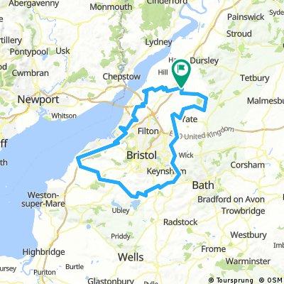 Round Bristol/ Avon 139 miles