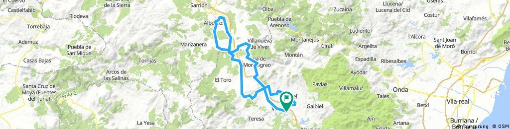 ESP 033: Via Verde Ojos Negros (Südabschnitt- 2. Teil)