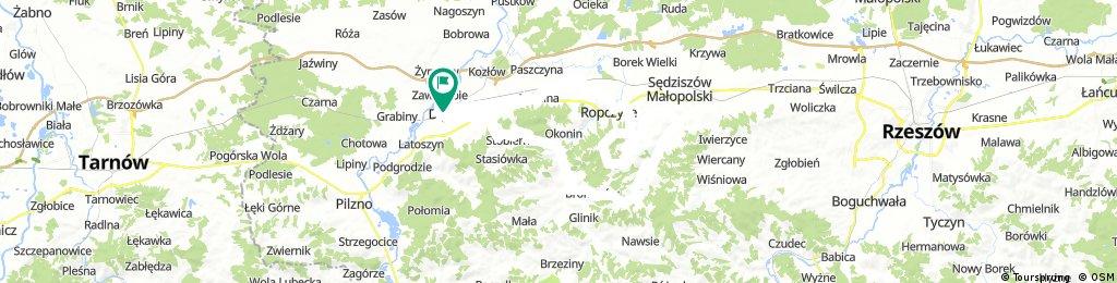 Pogórze Strzyżowskie pod Ropczycami 08.03.2018