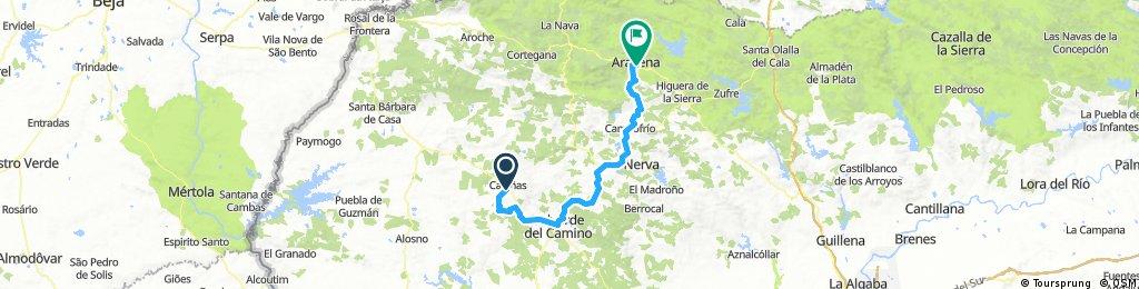 3ª etapa trasandalus Semana Santa 2018