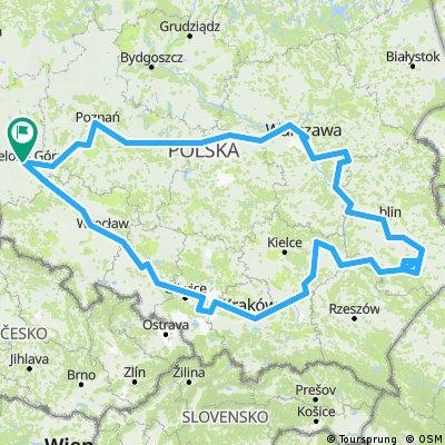 Poland Tour 2018- 2015km