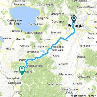 Perugia - Montegabbione
