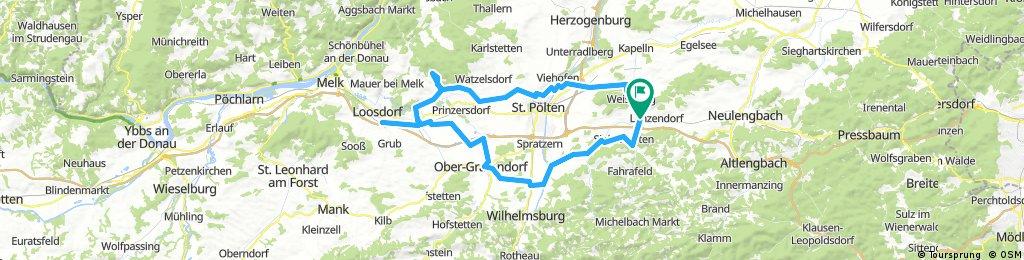 Böheimkirchen- Obergrafendorf- Loosdorf-Hohenegg-Böheimkirchen