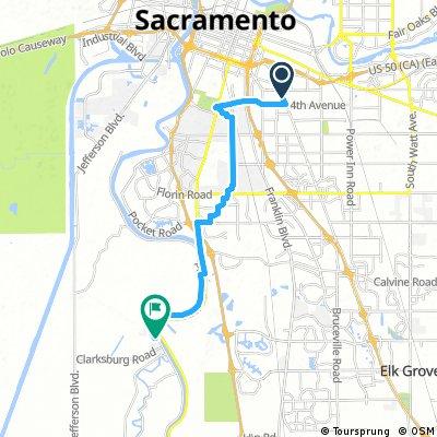 Mini Moto ride map