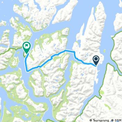 Lyngseidet to Tromso 12.6