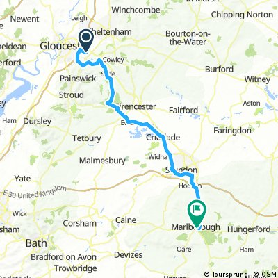 Brockworth to Marlborough
