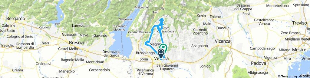 Alé la Merckx 2018 - percorso granfondo
