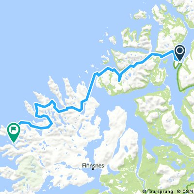 Tromso to Gryllefjord
