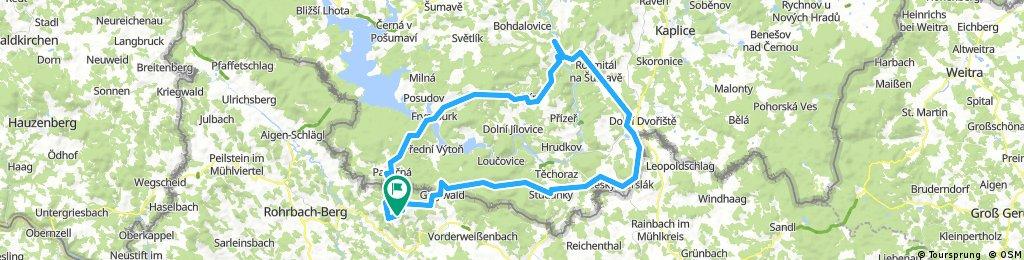 Herrnsch.- Rosental -Malsin -Friedberg -St.Thomas -Herrnschlag