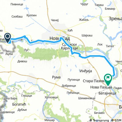 16 Ilok Novi Sad Belgrad Bikemap Your Bike Routes