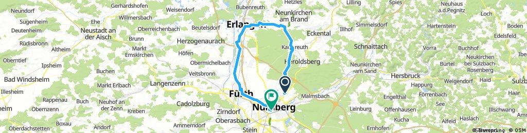 Nuremberg Erlangen Loop